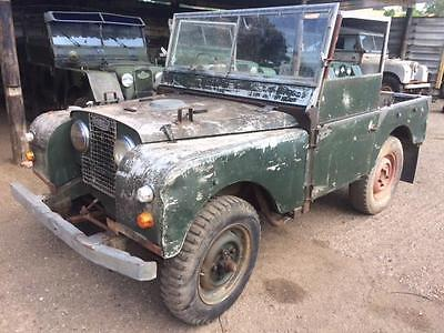Land Rover 1952 Series 1 80 inch with Original Running 2 Litre Petrol