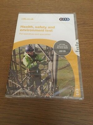 Citb Health Safety And Environment Test PC DVD ROM
