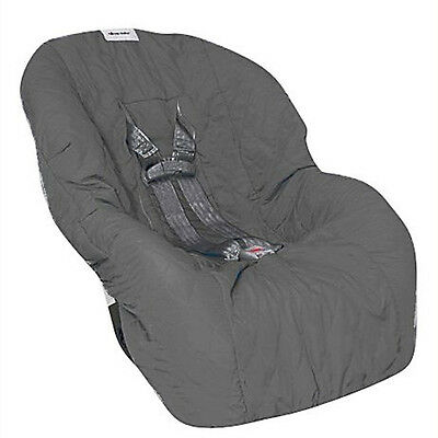 Nomie Baby Toddler Car Seat Cover - Charcoal NEW
