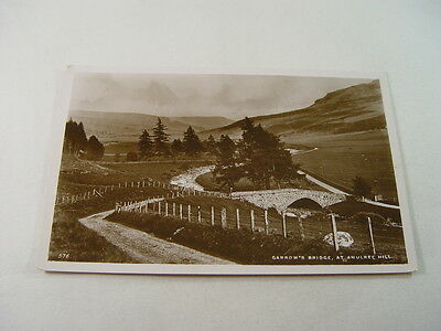 TOP12005 - Real Photo Postcard - Garrow's Bridge, Amulree Hill