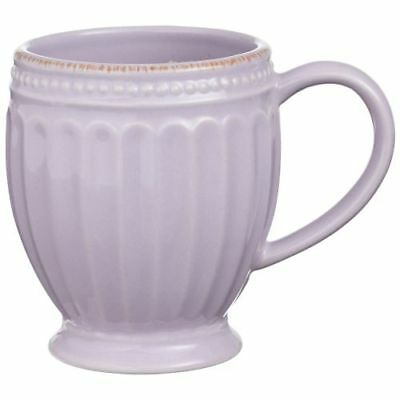 New Lenox French Perle Groove Lilac Mug