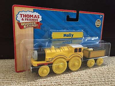 Thomas & Friends Wooden Molly 2012 Learning Curve Tomy Yellow Label New