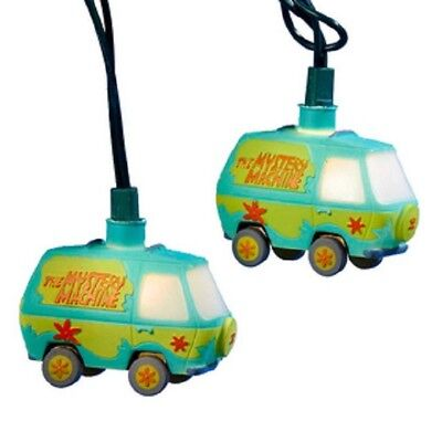 New Kurt Adler 10/L Scooby-Doo! Van Light Set