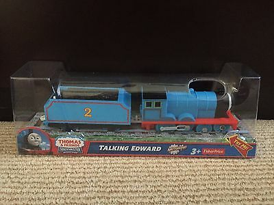 Thomas & Friends Talking Edward Trackmaster Motorized Train NEW Fisher Price