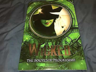 Wicked The Musical London Programme Willemijn Verkaik and Suzie Mathers 2017