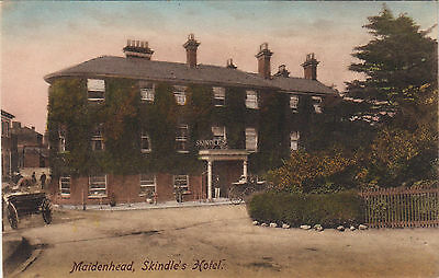 Postcard Skindle's Hotel Maidenhead Berkshire Friths Series c 1906 unposted