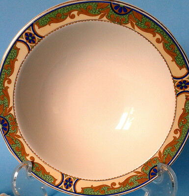 """WH GRINDLEY Ivory Pattern Bowl Art Deco c.1925 'IVORY' 6 1/2"""" CEREAL BOWL"""