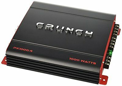 WHOU-PX10004-crunch PX1000.4 Power Amplifier (Class Ab, 4 Channels, 1,000 Watts
