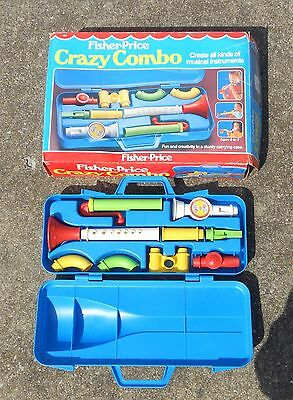 Vintage 1983  Fisher Price Crazy Combo #604 BOX