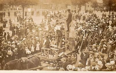 Chipping Norton Hospital Saturday 1915 Pioneer Boyscouts Shell Makers RP pc