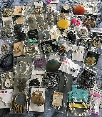 1000 New Pairs of Earrings from Various Fashion Jewelry Stores  Hoop Dangle Stud
