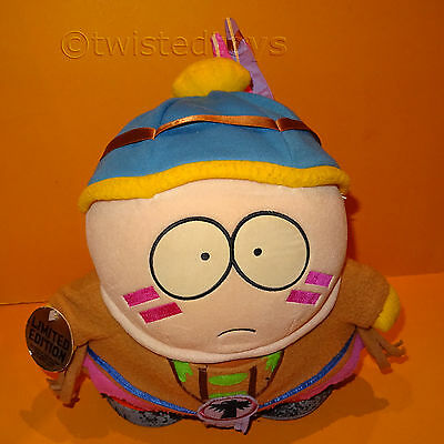"1998 Comedy Central South Park 11"" Indian Eric Cartman Plush Soft Toy Ltd Ed"