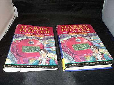 Harry Potter and the philosopher's stone Published by Ted Smart 3rd ever print