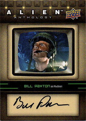 2016 Alien Anthology Upper Deck Auto Autograph Bill Paxton as Hudson Pick from 4