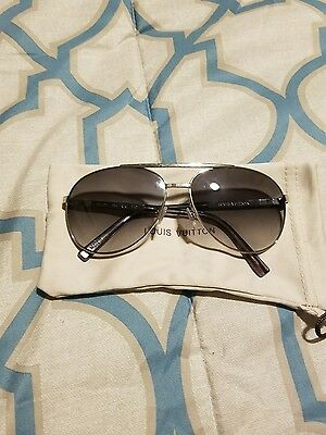 louis vuitton silver attitude aviator sunglasses