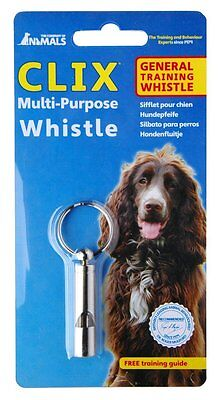 Clix Multi Purpose Dog Whistle Made From Tough Steel Yet a Lightweight Design