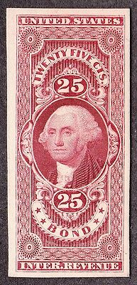 US R43TC4 25c Bond Revenue Trial Color Proof VF SCV $90