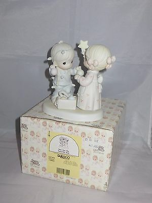 """""""you Are My Favorite Star"""" Precious Moments #527378; 1992 G Clef; Mib;"""