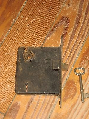 Vintage/Antique  MORTISE Door Lock Working With Skeleton KEY