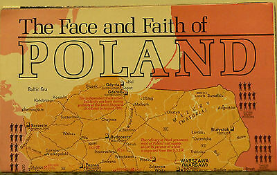 Vintage1982 National Geographic Map of Poland