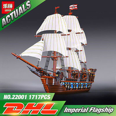 IMPERIAL FLAGSHIP Boat Compatible Pirates of the Caribbean 10210 -DHL- No Box