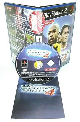 PRO EVOLUTION SOCCER 4 PES - Playstation 2 Ps2 Play Station Gioco Game Sony
