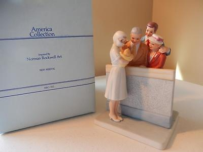 Norman Rockwell New Arrival NRC-612 America Collection Numbered Piece