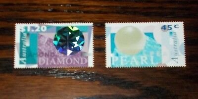 Australia Mint Stamps  Pearls And Diamonds 5.9.1996