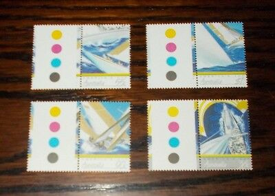 Australia Mint Stamps  America's Cup Yachting Championship 28.1.1987