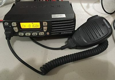 Kenwood TK-8160H 450-490 MHz UHF Mobile Radio 128 channel 45 watt