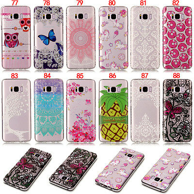 Butterfly Silicone Soft TPU Case Cover For Samsung S5 S6 S7 S8 J3 J5 J7 A5 2017