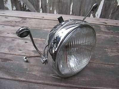 "Lucas Triumph Headlight 7"" T120 1972 Bonneville vintage BSA Cafe Motorcycle 1971"