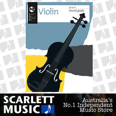 AMEB Violin Series 9 (Nine) - Grade 2 Book (Grade Two) *BRAND NEW*