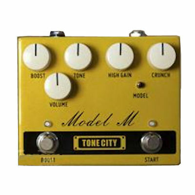 Tone City Model M Distortion TC-T32 Pedal Completely Hand Made True Bypass