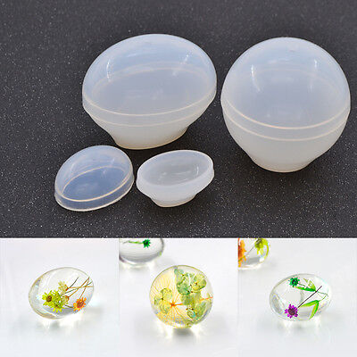 Flower Invitation Egg Type Mold Dove Egg Epoxy Spherical Oval Mould Silicone DIY