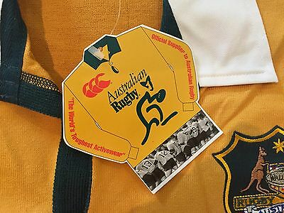 Wallabies 2000/2001 Canterbury Rugby Union Jersey Xl Short Sleeve
