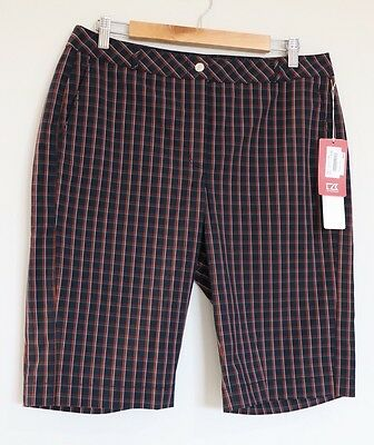 Cutter And Buck Ladies Golf Short Size US10 EUR 40 BNWT