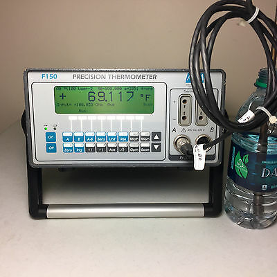 ISOTECH F150 Precision RTD Calibration Reference Thermometer Calibrator - Tested
