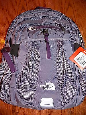"NWT The North Face Women's Recon Backpack Daypack Purple Sage 15"" LAPTOP BAG"