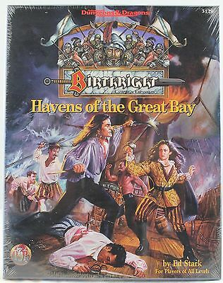 TSR AD&D Birthright 3129 Havens of the Great Bay (SH)