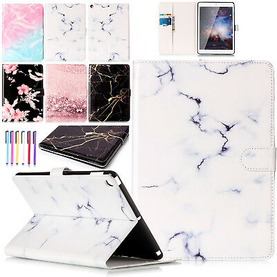 For iPad 9.7 2017 /Air 2 Luxury Leather Flip Stand Card Slot Case Magnetic Cover
