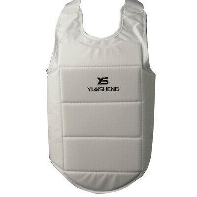 Karate Chest Protector Vest Boxing Waist Guard Gear for Competition Training