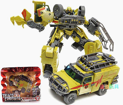 "Transformers Revenge Of The Fallen Desert Tracker Ratchet 7"" Toy Action Figure"