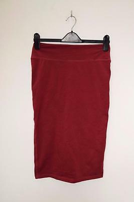 River Island Ladies Calf Length Stretch Pencil Skirt Size Uk 12 - A2