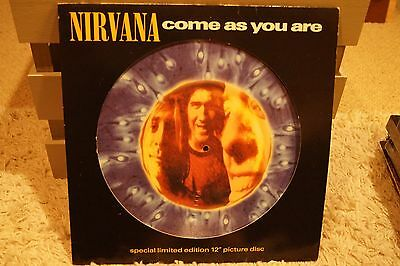"""Nirnana  Come as You Are  Vinyl, 12"""", Maxi-Single, 45 RPM, Picture Disc  NEW"""