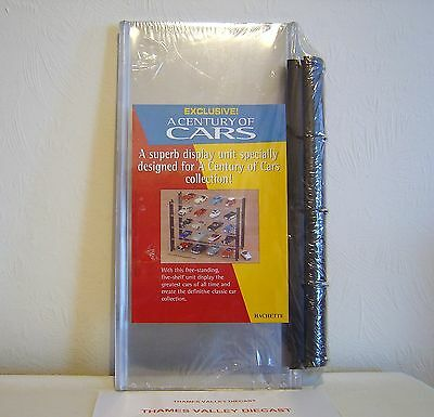 HACHETTE ACRYLIC DISPLAY STAND FOR 1:43 SCALE MODEL CARS, 360mmx175mmx300mm NEW