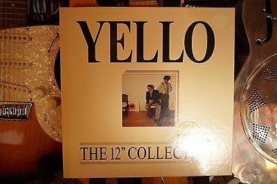 "Yello ‎– The 12"" Collection Box Set in Yellow Vinyl Mint"