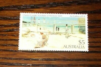 Australia Mint Stamp $5 Charles Conder A Holiday At Mentone