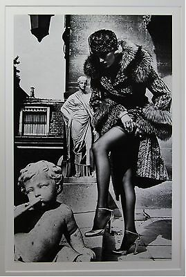 "Helmut Newton - ""Fashion photograph"" - original Photo Litho - Special Collection"