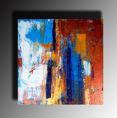 Abstract Painting landscape Large square Painting Contemporary Original Acrylic